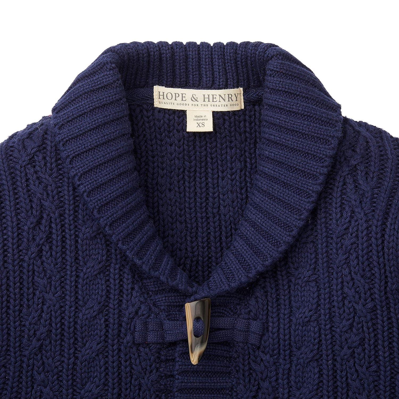 b1ad43436 Amazon.com  Hope   Henry Boys  Shawl Collar Sweater Cardigan with ...
