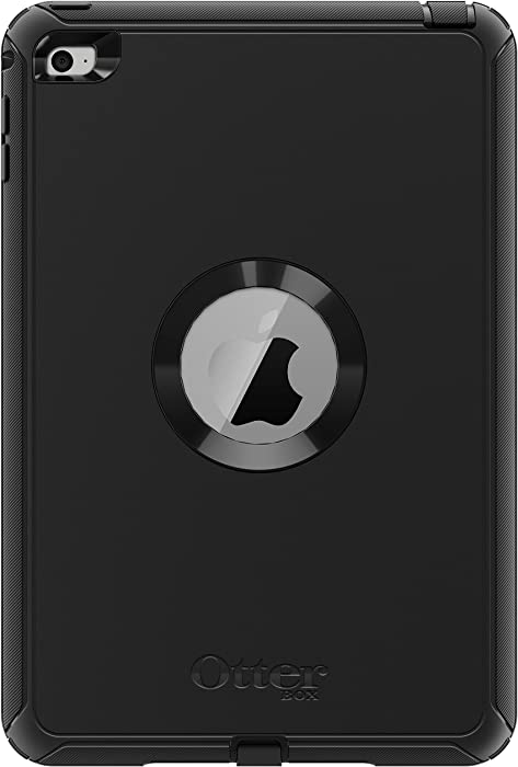OtterBox DEFENDER SERIES Case for iPad Mini 4 (ONLY) - Retail Packaging - BLACK
