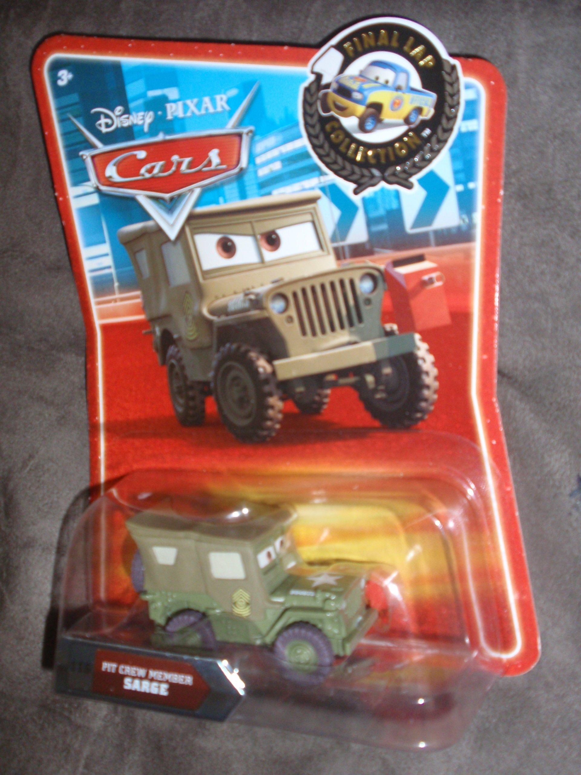 Disney / Pixar CARS Exclusive 155 Die Cast Car Final Lap Series Pit Crew Member Sarge