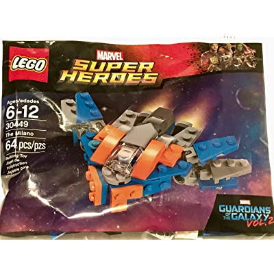 LEGO Marvel Super Heroes Guardians of the Galaxy The Milano (30449) Bagged: Toys & Games
