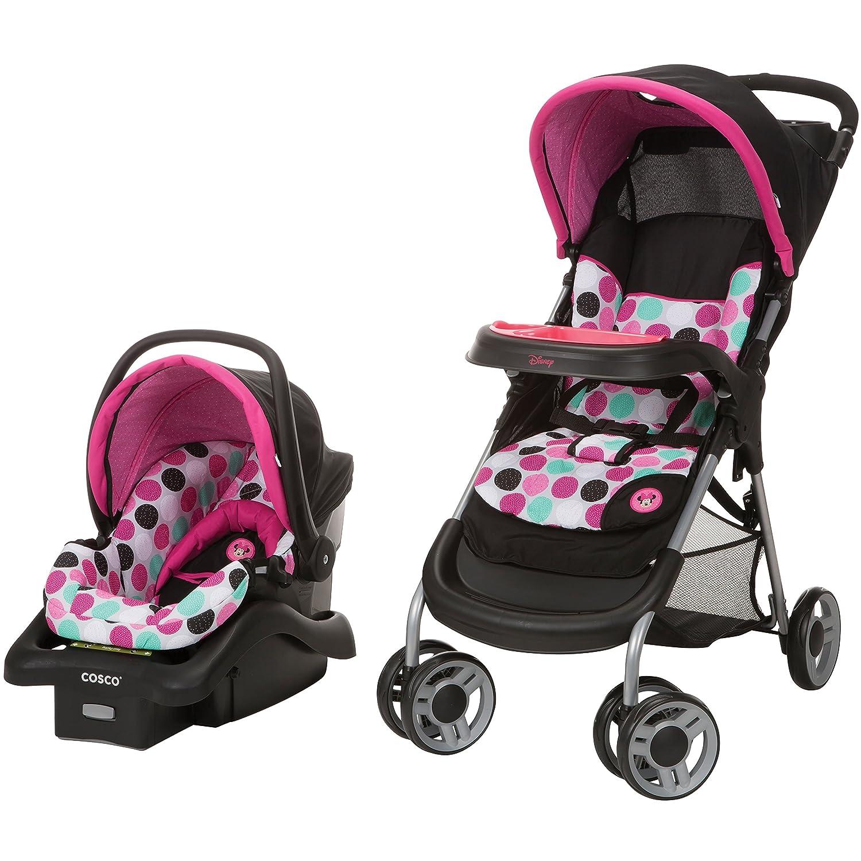 Amazon.com : Disney Baby Minnie Mouse Lift & Stroll Plus Travel ...