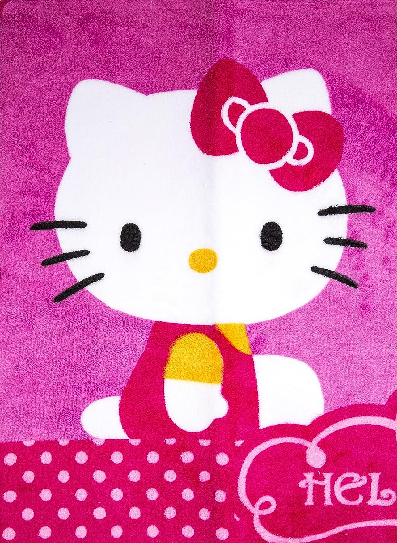 Alfombra de Microfibra Hello Kitty