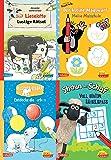 Pixi kreativ 4er-Set 20: TV- und Bilderbuch-Stars bei Pixi kreativ (4x1 Exemplar): Lieselotte - Der kleine Maulwurf - Der kleine Eisbär - Shaun das Schaf