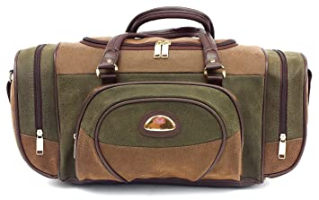 Image Unavailable. Image not available for. Colour  Leather Weekend Bag  Travel ... 3cdcbdc5c6b1e