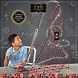 FAO SCHWARZ Children's Build-a-Roller-Coaster Model Kit, Kids' Engineering Construction Toy for Logic & STEM Development, 753-Piece Set w/ Rods & Connectors, Includes Motorized Conveyor & Car on Track