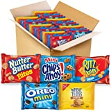 OREO Mini Cookies, Mini CHIPS AHOY! Cookies, RITZ Bits Cheese Crackers, Nutter Butter Bites & Wheat Thins Crackers, Nabisco C