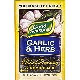 Good Seasons Garlic & Herb Salad Dressing & Recipe Mix (0.75oz Packets, Pack of 24)