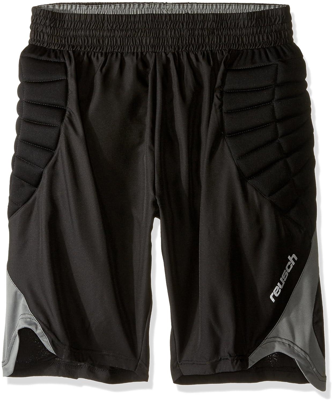 Reusch Adult Eldarion GoalkeePer Shorts, Black/Grey, X-Large 3118600