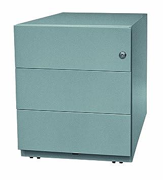Rollcontainer metall  Bisley Rollcontainer Note mit Griffleiste, 3 Universalschubladen ...