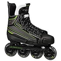 Tour Hockey Code 9 SR Inline Hockey Skate, Black/White/Red, 09