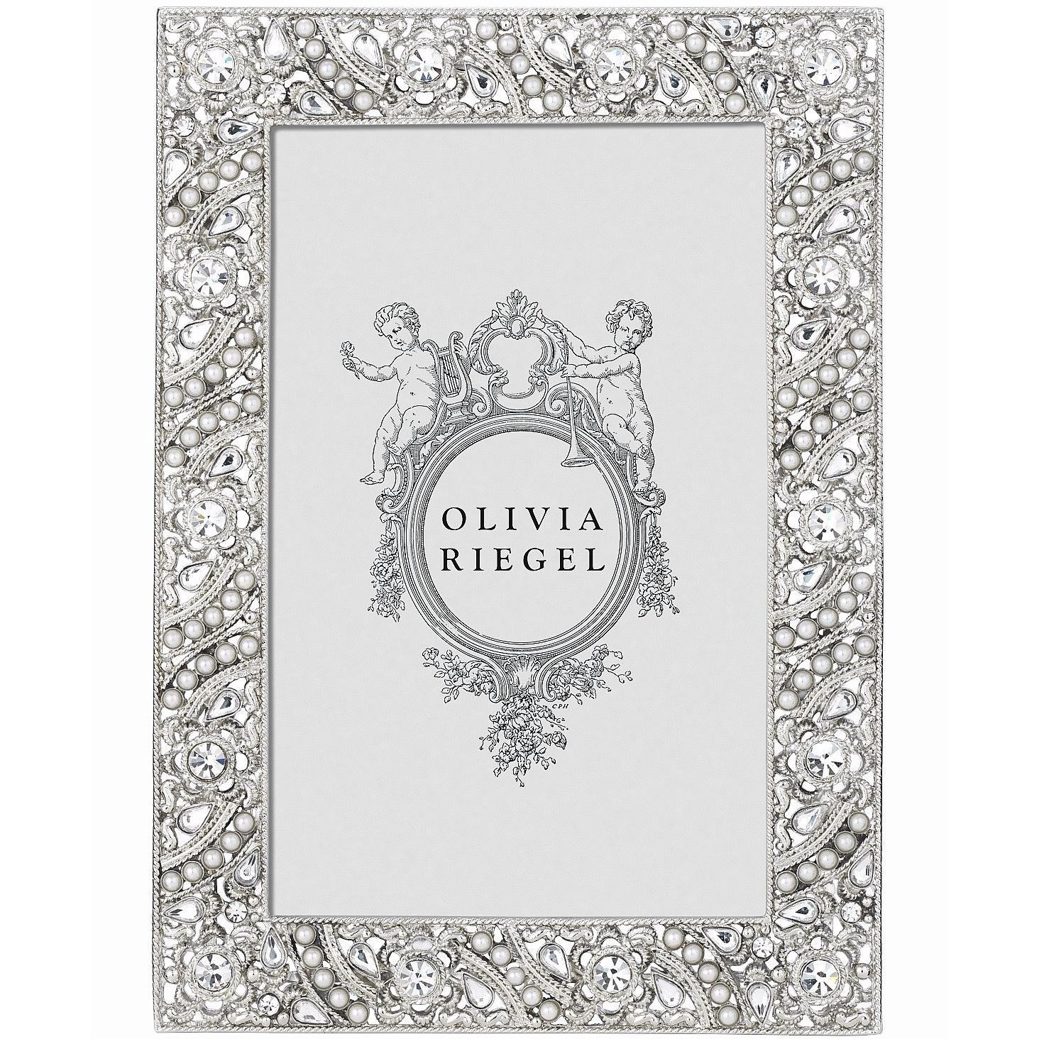 ELOISE Austrian Perle /& Crystal 4x6 frame by Olivia Riegel 4x6 RT1984