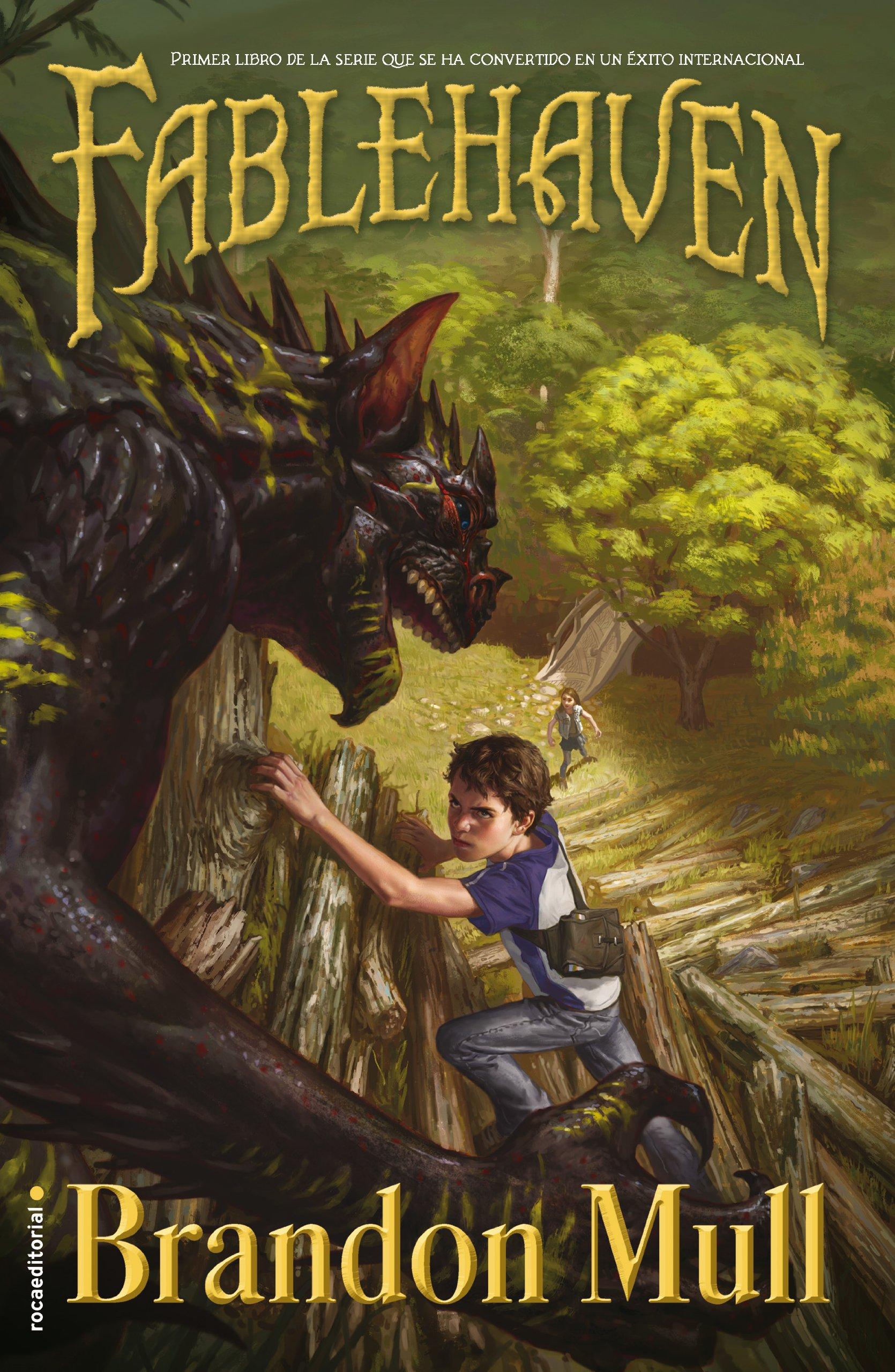 Fablehaven: Libro I (Junior - Juvenil (roca)): Amazon.es: Brandon Mull, Inés Belaustegui: Libros