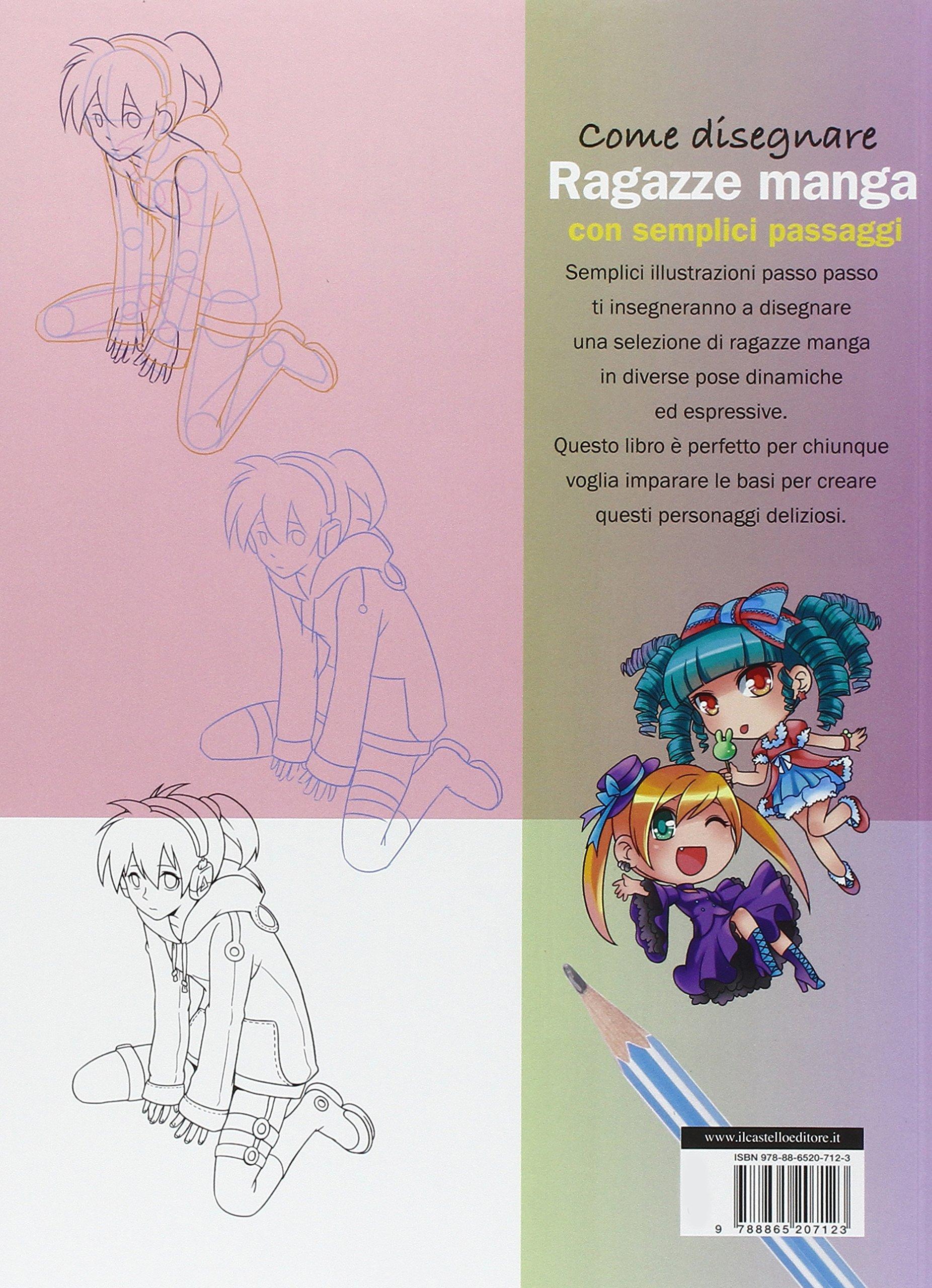 Manga Ragazze Disegnare Li Con itCome Passaggi Semplici Amazon WBerxQdCo