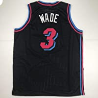$49 » Unsigned Dwyane Wade Miami Black City Vice Custom Stitched Basketball Jersey Size Men's XL New No Brands/Logos