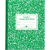 Roaring Spring Grade One Composition Book, 10 x 8 Inches, 50 Sheets (77920)