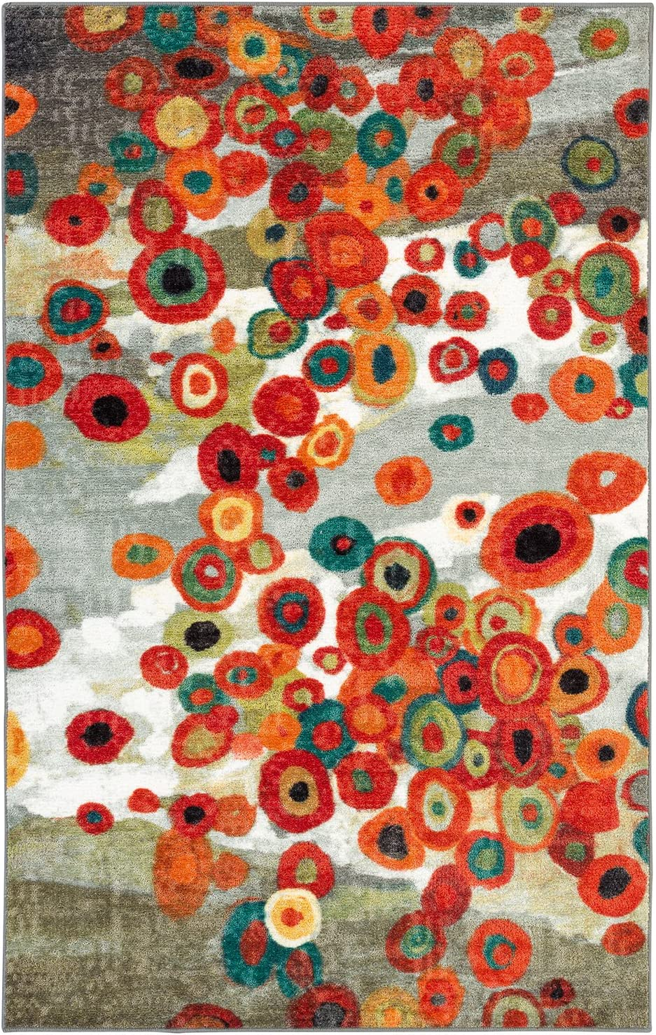 """Mohawk Home Tossed Floral Area Rug, 2'6""""x3'10"""", Multi"""