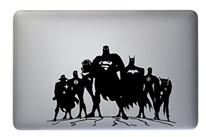 Dc Comics Justice League Vinyl Decal Sticker Skin for Apple Macbook Air &  Pro 11