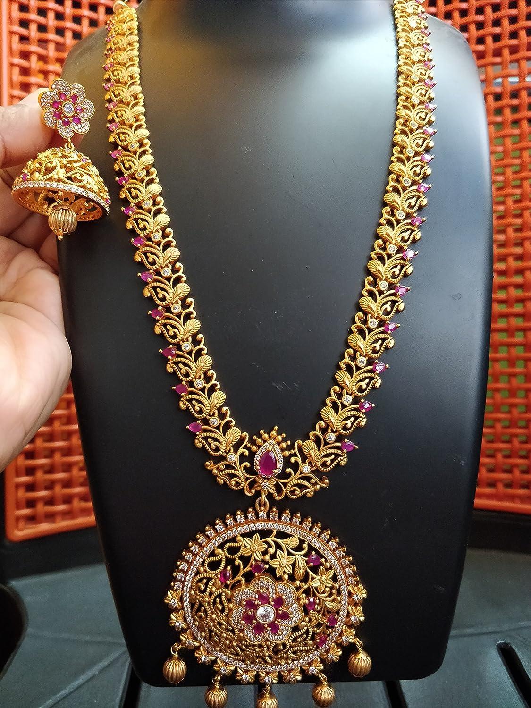 Gold Haram Designs In Khazana Jewellery With Price