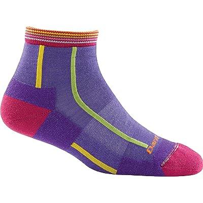 Darn Tough Bermuda Stripe Quarter Height Light Cushion Sock - Women's Majesty Small: Clothing
