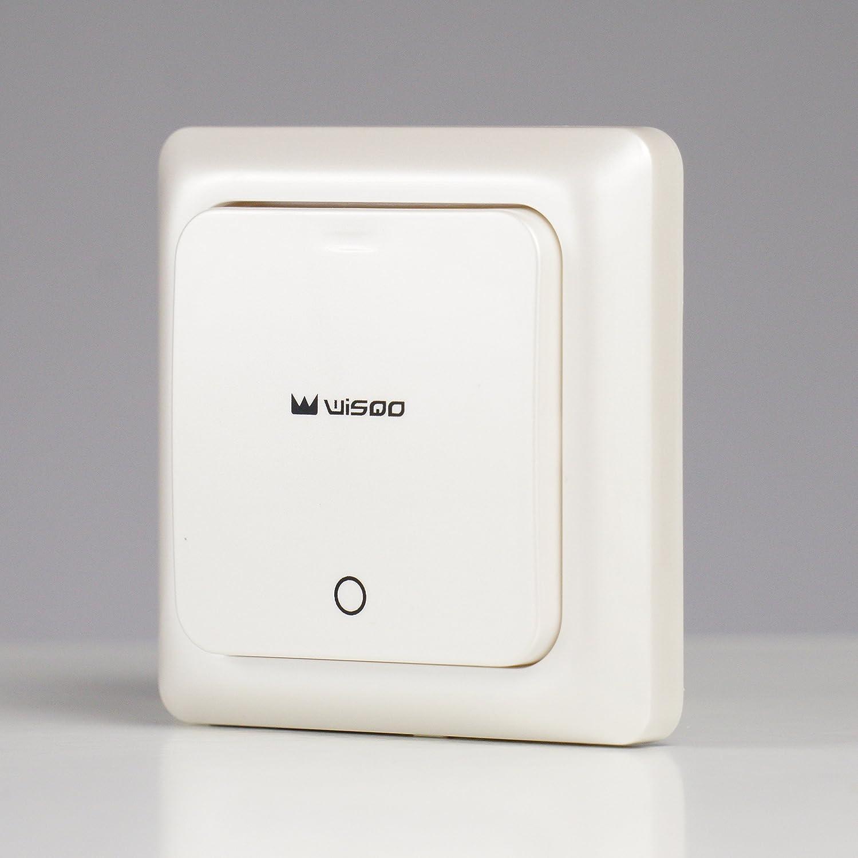 wlan alexa lichtschalter wifi smart home lichtschalter arbeitet mit amazon alexa google home. Black Bedroom Furniture Sets. Home Design Ideas