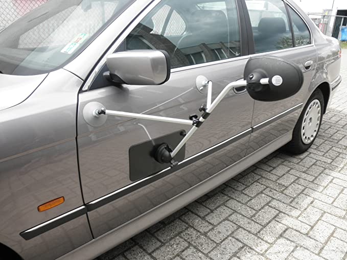 Repusel Magnetplatten Wohnwagenspiegel Manomak Glas Plan 2er Set Auto