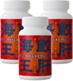 エバーライフ 鮫生肝油 「鮫肝海王 (サメギモポセイドン)」 180粒 3本セット