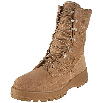 cd520f88638 Wellco US Military Desert Tan Men s Combat Boots 14.5 R