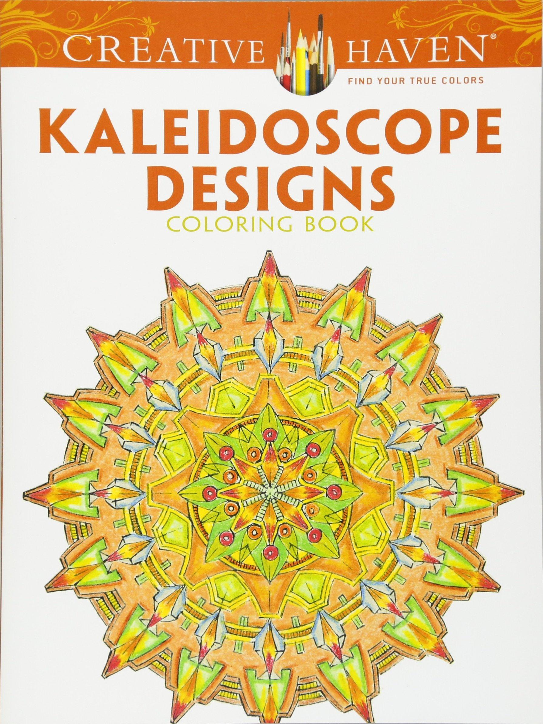 Amazon Creative Haven Kaleidoscope Designs Coloring Book Adult 9780486494524 Lester Kubistal Books