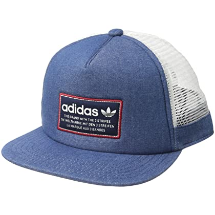 160274860380cf ... Overseas to Cambodia from the USA- Fado168.comadidas Men's Originals  Patch Trucker Structured Cap, Collegiate Navy/White/Power Red, One Size    Amazon