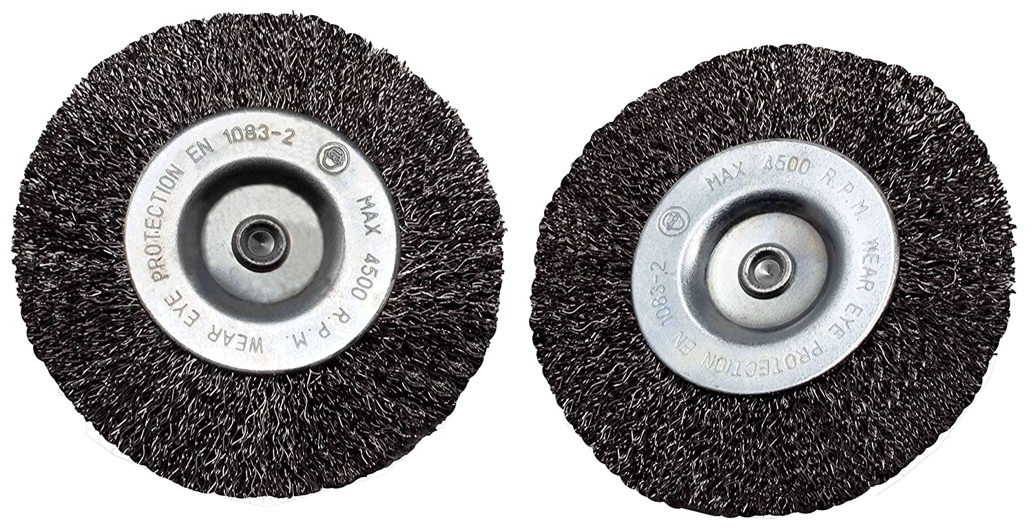 Set of 10 Joint Brushes for Electric Joint Brush Gardenline GFB 400/ Metal//Wire//Round Wire//Metal Brush