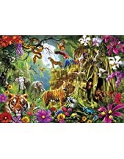 Buffalo Games 3775-Amazing Nature Collection-Jungle Discovery-500 Piece Jigsaw Puzzle