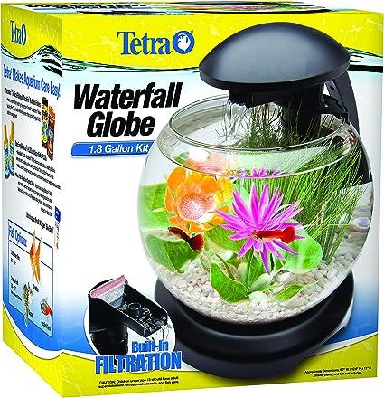 TETRA 1.8 GALLON WATERFALL GLOBE AQUARIUM KIT NEW FISH TANK FREE 2 DAY SHIPPING