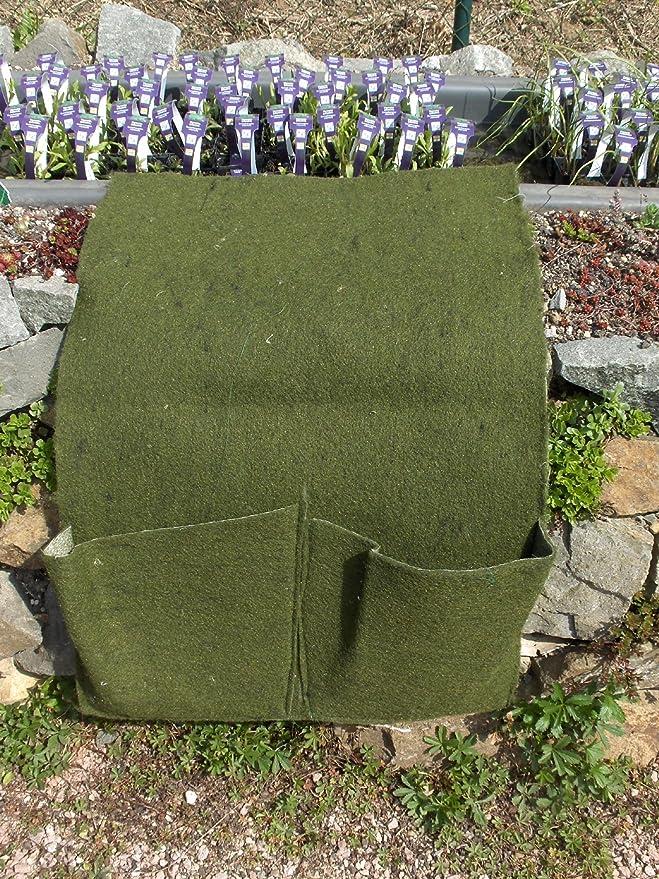 Pflanztasche Mini mit 1 Tasche aus Ufermatte Böschungsvlies Pflanzkorb 1er
