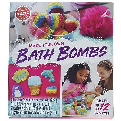 Klutz KLZ815880 Make Your Own Bath Bombs: Home & Kitchen
