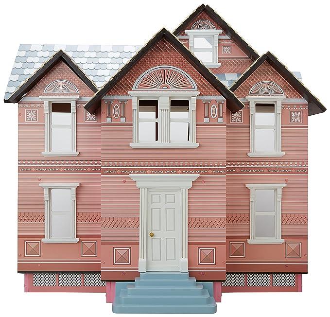 Amazon.es: Melissa & Doug - Casa de muñecas victoriana (12580): Juguetes y juegos