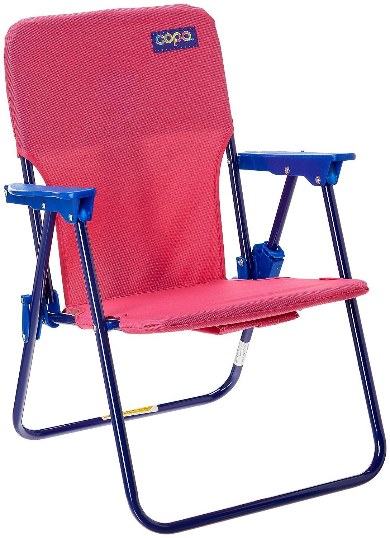 Kids Folding Backpack Beach Chair - Pink JGR Copa 70299-9