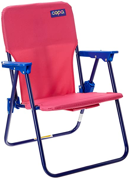 Merveilleux Kids Folding Backpack Beach Chair   Pink