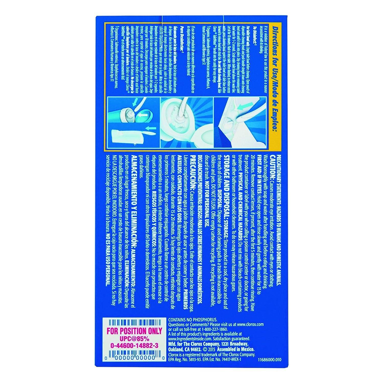 Amazon.com: Clorox 14882clo14882ct desinfección ...