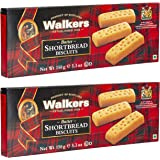 Walkers Butter Short Bread Fingers Biscuits, 150 Grams (Pack of 2)
