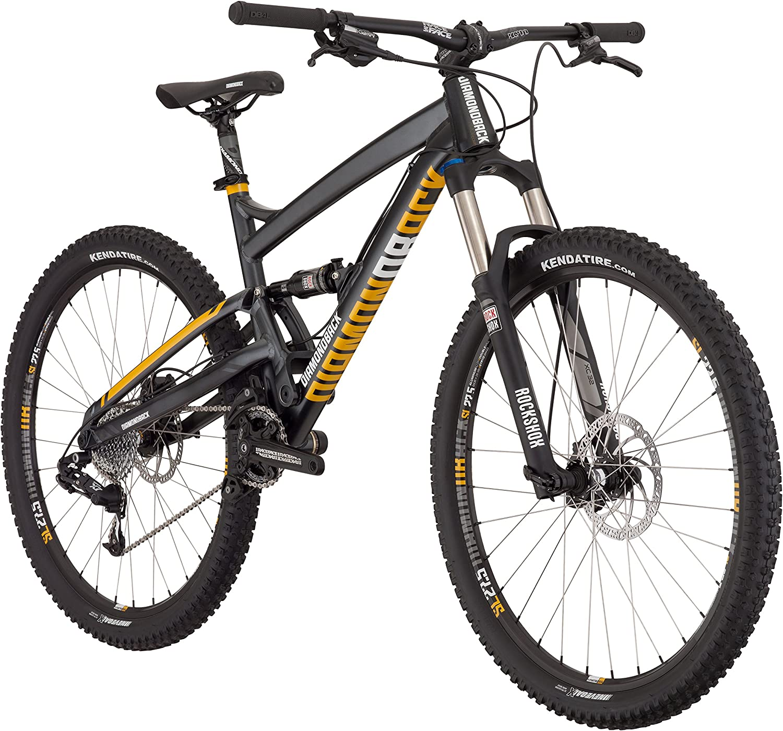 Diamondback Bicycles 2016 Atroz Comp Complete Ready Ride Full Suspension Mountain Bike