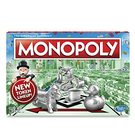 Amazon.com: Monopoly Classic Game: Toys & Games