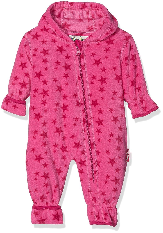Playshoes Unisex Baby Fleece-Overall Sterne, Oeko-Tex Standard 100 421008