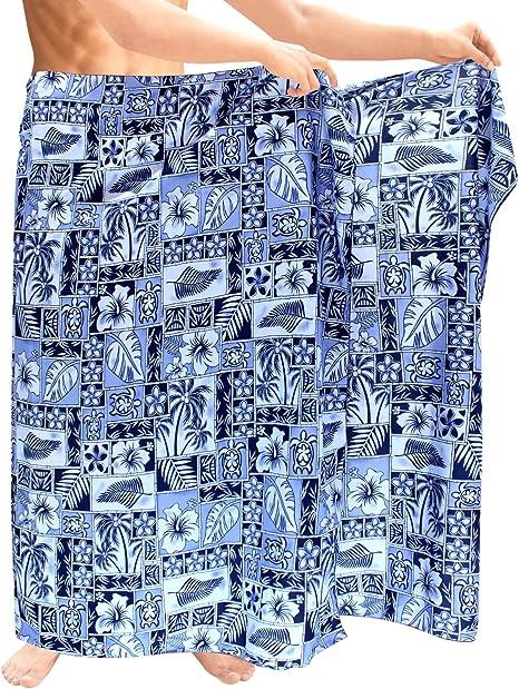 Amazon.com: LA LEELA - Pareo de playa para hombre: Clothing
