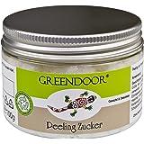 Greendoor esfoliante per il viso, a base di zucchero, scrub per il viso e collo e sfaldamento e sensibile pelle, 100 g, senza fragranza e conservanti, cosmetici naturali