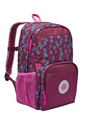 Amazon.com | Lassig Girls' Pre-School Big Kid's Backpack, Blossy ...