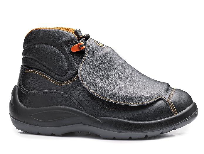 Base bo473 metatarso S3 SRC Titanio Mens Seguridad soldadores Boot: Amazon.es: Bricolaje y herramientas
