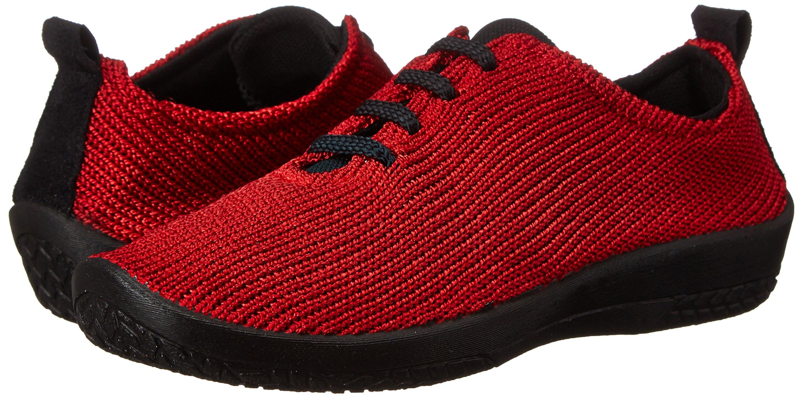 Arcopedico Women's Ls 1151 Red Fabric Casual 9 B(M) US
