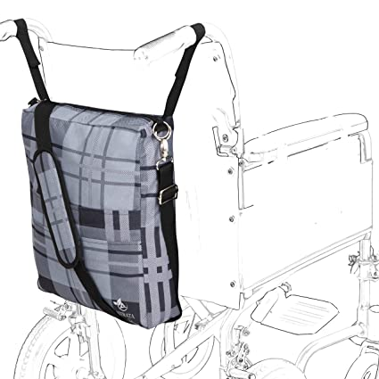 Amazon.com: Astrata Backpack - Accessory Tote Bag for Seniors on wheelchairs, Electric Wheelchair, Mobility Devices, Travel Storage Carrier Bag Organizer ...