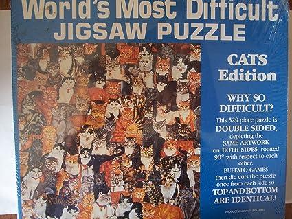 Amazon.com: 1991 del mundo más difíciles rompecabezas