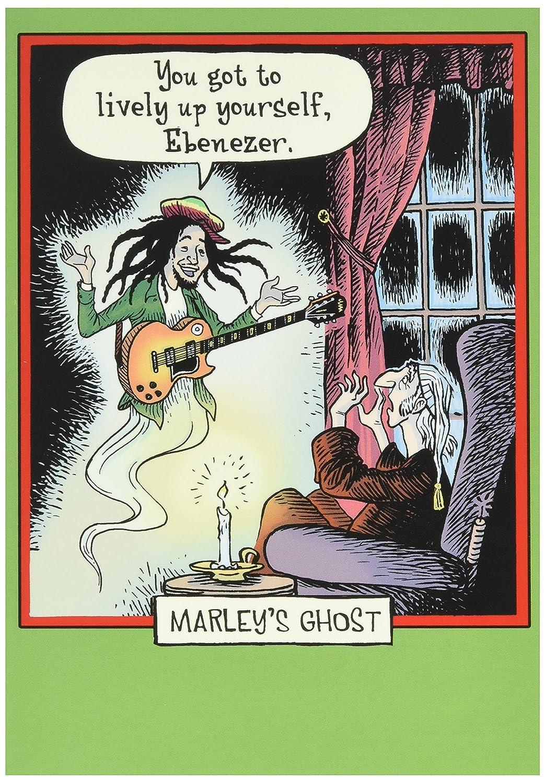 Amazon.com : 5907 \'Marleys Ghost\' - Funny Merry Christmas Greeting ...
